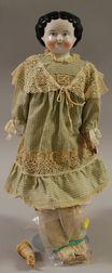 1860s China Head Doll
