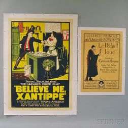 Four U.S. Theatrical Posters