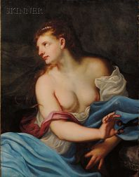Manner of Peter Paul Rubens (Flemish, 1577-1640)      Delilah
