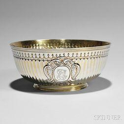 Queen Anne Britannia Standard Silver-gilt Bowl