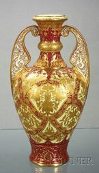 Royal Crown Derby Porcelain Vase