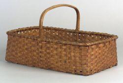 Shaker Rectangular Woven Splint Basket