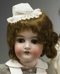 Queen Louise Bisque Head Doll
