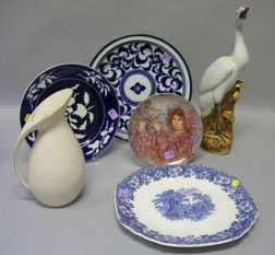 Group of Assorted Decorative and Collectible Ceramic Articles