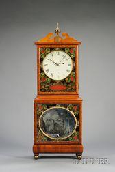 Mahogany Shelf Clock by Aaron Willard