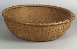 Shaker Large Round Woven Splint Basket