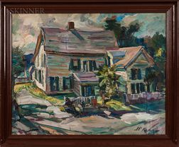 James P. Kerr (American, b. 1953)      Cape Ann House