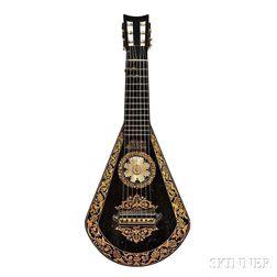 English 7-string Lute Guitar, Edward Light, London, c. 1830