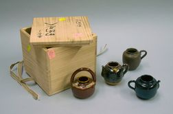 Boxed Set of  Four Asian Items