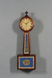 Mahogany Patent Timepiece or