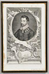 Early Engraving of Sir Francis Drake