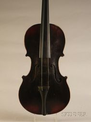 German Violin, Neuner & Hornsteiner Workshop, Mittenwald, 1873