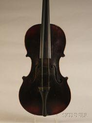 German Violin, Neuner & Hornsteiner Workshop, Mittenwald, 1873