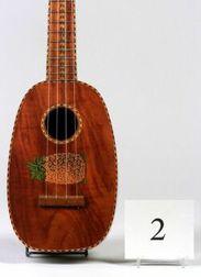 Good Hawaiian 'Ukulele, S.K. Kamaka, Honolulu, c. 1930, Model Pineapple, Serial Numb