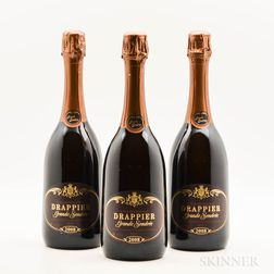 Drappier Grande Sendree 2008, 3 bottles