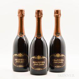 Drappier Grande Sendree 2008, 3 bottles