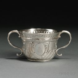 George II Sterling Silver Two-handled Cup