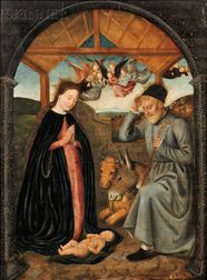 Flemish School, 15th/16th Century      Nativity