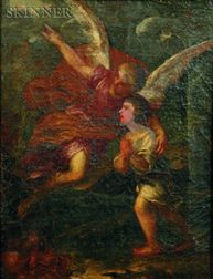 After Pietro da Cortona (Italian, 1596-1669)    The Guardian Angel
