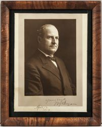 Bryan, William Jennings (1860-1925) Signed Photograph.