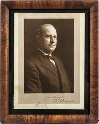 Bryan, William Jennings (1860-1925) Signed Photograph.