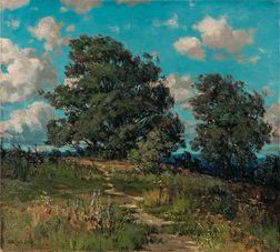 Frederick Oakes Sylvester (American, 1869-1915)      The Meadow Path