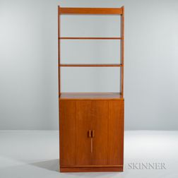 Thomas Webb Bookcase with Cabinet