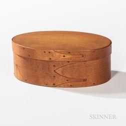 Shaker Oval Three-finger Pantry Box