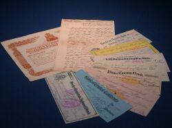 (American Judaica) Documents and Ephemera