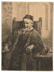 Rembrandt van Rijn (Dutch, 1606-1669)      Jan Lutma Goldsmith