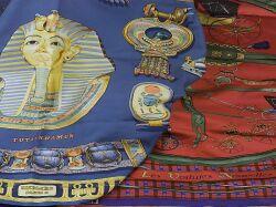 Two Hermes Silk Scarves