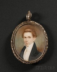 Portrait Miniature of a Gentleman with Ginger-colored Hair