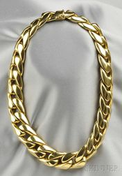 18kt Gold Necklace, Retailed by Dorfman