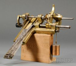 Brass and Steel Clock Fusee Engine