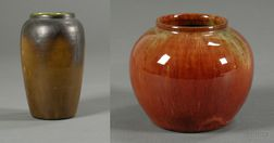 Two Newcomb Pottery Vases