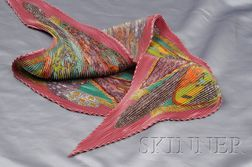 Pleated Silk Scarf, Hermes