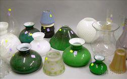 Group of Twenty-three Assorted Lighting Shades
