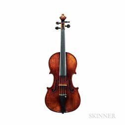 Violin, Vincenzo Panormo, Paris, 1789