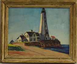 Marion Huse (American, 1896-1967)      Lighthouse.