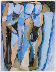 Rex Jesse Ashlock (American, 1918-1999)    Figural Abstraction