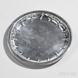 Early Irish Sterling Silver Dish