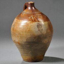 Charlestown Pottery Stoneware Jug