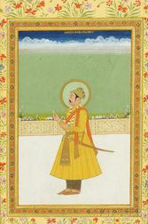 Portrait of a Mughal Ruler