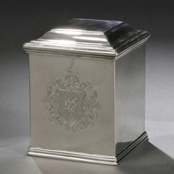 George II Sterling Silver Tea Caddy