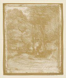 Jean-Baptiste-Camille Corot (French, 1796-1875)      Souvenir du Bas-Bréau