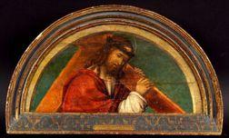 Attributed to Francesco Zaganelli da Cotignola (Italian, 1470-1532)    Christ Carrying the Cross