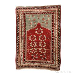 Central Anatolian Prayer Rug