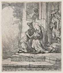 Rembrandt Harmensz van Rijn (Dutch, 1606-1669)      The Return of the Prodigal Son