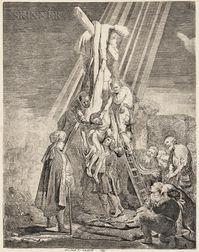 Rembrandt Harmensz van Rijn (Dutch, 1606-1669)      The Descent from the Cross