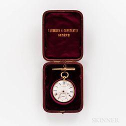 Vacheron & Constantin 18kt Gold Open-face Watch